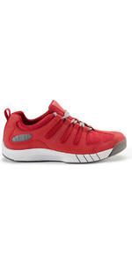 Henri Lloyd Deck Grip Profile Deck Shoes in New Red YF600001