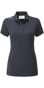 Henri Lloyd Frauen Cool Dri Polo Shirt Schiefer Blau Yi000006