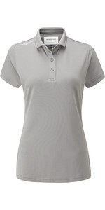 Henri Lloyd Womens Cool Dri Polo Shirt Titanium YI000006