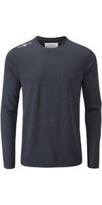 Henri Lloyd Cool Dri camiseta de manga larga azul pizarra YI200003