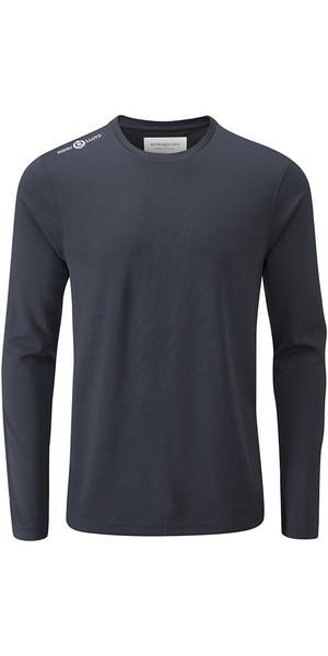 2018 Henri Lloyd Cool Dri T-shirt à manches longues Slate Bleu YI200003