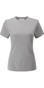 Henri Lloyd Mulheres Cool Dri T-shirt Titânio Yi200004
