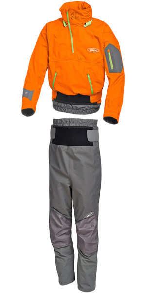 Yak Apollo Touring Cag 2721 y Chinook Trouser 2731 Combi Set Naranja / Gris