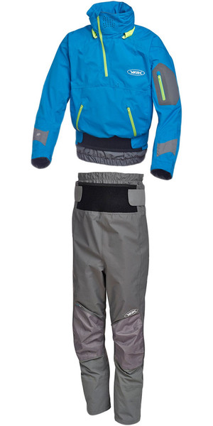 Yak Apollo Touring Cag 2722 y Chinook Trouser 2731 Combi Set Azul / Gris