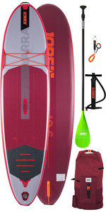 "2020 Jobe Yarra Inflável Stand Up Paddle Board 10'6 X 32 ""inc, Remo, Mochila, Bomba E Trela"