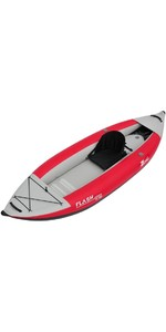 2019 Z-Pro Flash 1 Man High Pressure Inflatable Kayak Red FL100