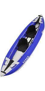 2020 Z-pro Tango Kayak Gonflable 1 Ou 2 Personnes TA200 Bleu - Kayak Uniquement