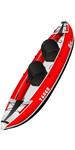 2019 Z-pro Tango 1 O 2 Man Kayak Gonfiabile Ta200 Rosso - Solo Kayak