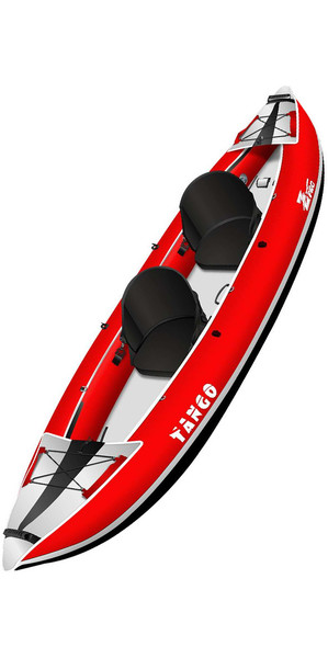 2019 Z-Pro Tango 1 ou 2 Man Kayak gonflable TA200 RED - Kayak seulement