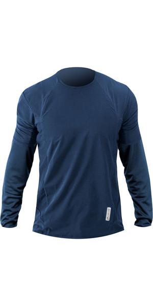 2019 Zhik Avlare LT Camiseta de manga larga STEEL BLUE ATE0095