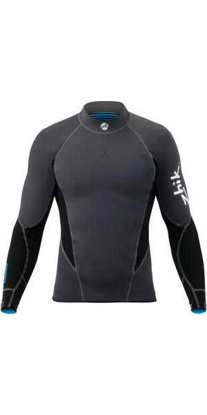 2018 Zhik Microfleece X 1mm Neoprene Top BLACK DTP0570