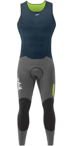 2019 Zhik Superwarm V Skiff Long John Wetsuit NAVY SKF1120