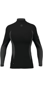 2020 Zhik Womens Long Sleeve Spandex Top BLACK TOP61W