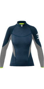 2019 Zhik Frauen Superwarm V Neopren Top Navy Dtp1120w