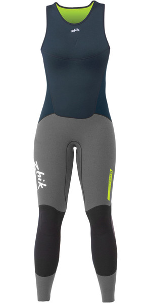2019 Zhik Womens Superwarm V Skiff Lange John Wetsuit NAVY SKF1120W