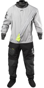 2021 Zhik Mens Front Zip Drysuit DST-0260 - Platinum