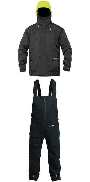2019 Zhik Kiama X Jacket J401 y pantalón TR101 Combi Set Black