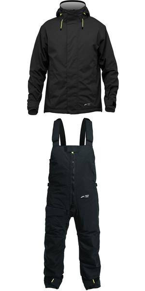 2019 Zhik Kiama Jacket J101 & Trouser TR101 Combi Set Negro / Negro