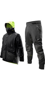 2020 Zhik Mens Apex Offshore Sailing Jacket & Trouser Combi Set - Anthracite Black