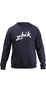 2021 Zhik Mens Cotton Sweat Shirt SWT-0020 - Navy