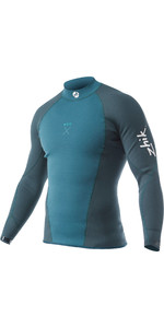 2020 Zhik Mens Microfleece X Eco Foam Wetsuit Top Sea Green DTP0770