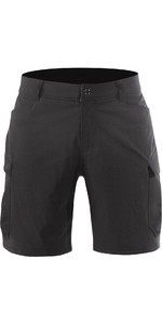 2019 Zhik Mens Harbour Shorts Noir SRT0270