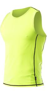 2021 Zhik Spandex Hommes UV50 Lycra Vest TOP60 - HiVis