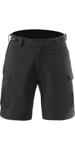 2019 Zhik Mens Technical Deck Shorts Black SRT0370