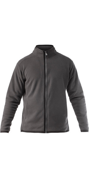 2019 Zhik Mens Zip Fleece Jacket grigio scuro JKT0030