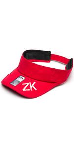 2020 Zhik Sailing Visor Red VISOR200