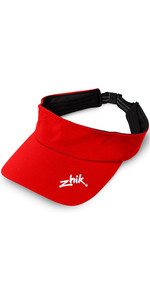 2020 Zhik Structured Sailing Visor Flame Red VSR0400