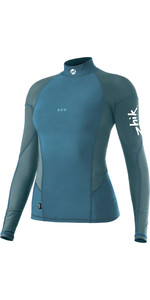 2020 Zhik Mujer Eco Spandex Top Sea Green Dtp0062