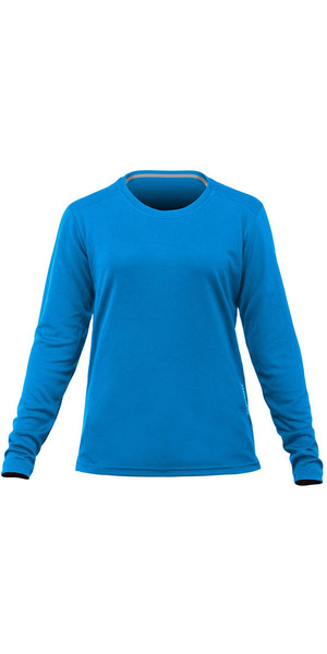 2019 Zhik Womens Long Sleeve ZhikDry LT Top Cyan TOP73W