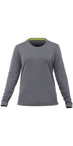 2020 Zhik Womens Long Sleeve ZhikDry LT Top Grey TOP73W