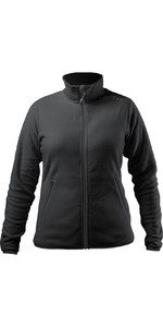 2021 Zhik Feminino Polartec Zip Fleece Jkt-0032w - Preto
