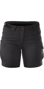 2020 Zhik Dames Technical Deck Shorts Zwart SRT0370