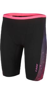 2021 Zone3 Herren Cosmic Swim Jammers Sw18mco - Grau / Fluro Gelb