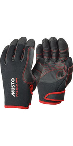 2019 Musto Performance Winter Lange Vinger Handschoenen Zwart AS0594