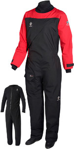 2018 Crewsaver Atacama Sport Drysuit ROT / SCHWARZ 6555 2ND