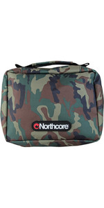 2019 Northcore Basic Surfer Travel Kit Pack / Beutel CAMO NOCO15B