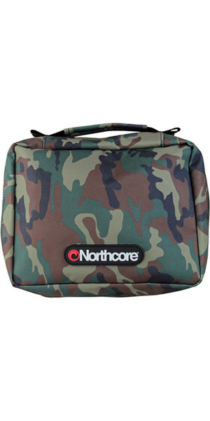 2019 Northcore Basic Surfer Travel Kit Confezione / Borsa CAMO NOCO15B