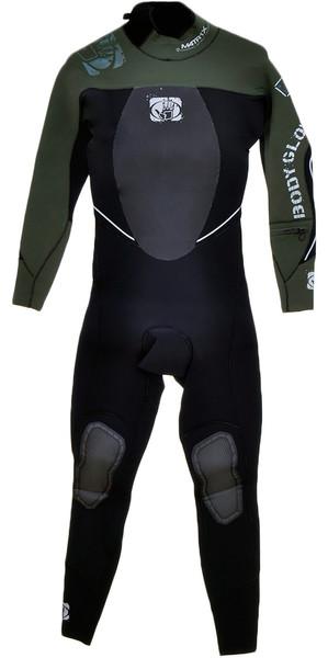 BODYGLOVE Matrix 3/2 millimetri vapore muta nera / militare BG656 Verde