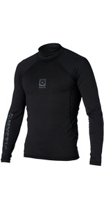 2020 Mystic Men's Long Sleeve Bipoly Thermo Vest Black 140070