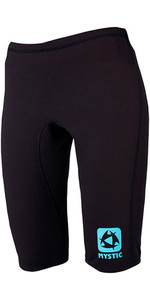 2019 Mystic Womens Bipoly Thermo Pantaloncini NERO 140090