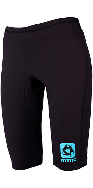 Mystic Womens Bipoly Thermo Short ZWART 140090