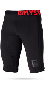 2021 Mystic Mens Bipoly Thermo Shorts Schwarz 140075