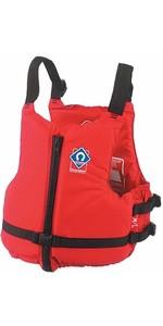 Crewsaver Junior Centre Aide à La Flottabilité Zip En Rouge 2359