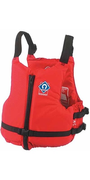 2018 Crewsaver JUNIOR Center Zip Crewsaver in ROT 2359