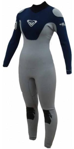 ROXY Cell womens 3/2mm GBS Wetsuit Blue / Grey CL20W