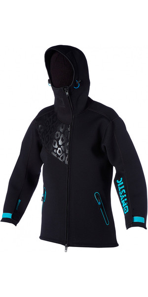 Mystic Ladies Coast Rigging Jacket Black 150675